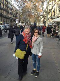 Family in Barcelona