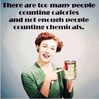 Count Chemicals, Not Calories