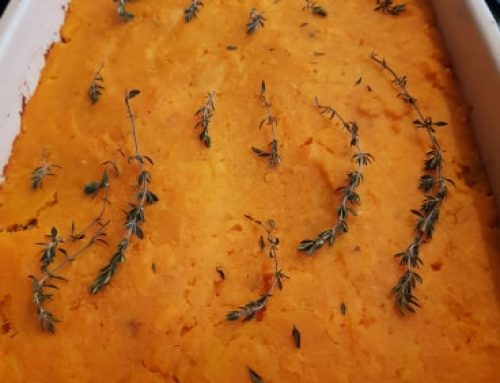 Sweet Potato Lentil – Quinoa Shepard's Pie