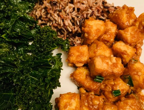 Baked Peanut Butter Tofu